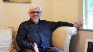 "Author Amitav Ghosh's newest book is ""The Gun Merchant."""