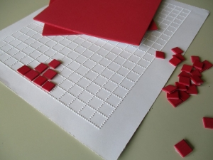 Braille graphing paper