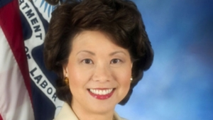 This is a photograph of Elaine Chao.