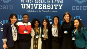 Students at the Clinton Global Initiative University 2015 in Miami.