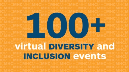 Infographic: 100+ virtual Diversity and Inclusion events