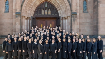 A group shot of MHC's 2019-2020 Chorale