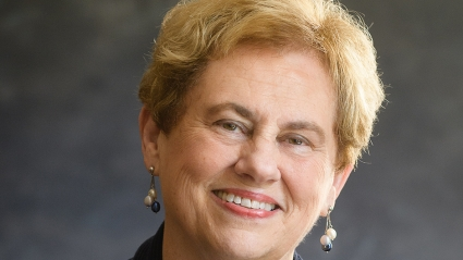 Helen Drinan '69 is the eighth president of Simmons University.