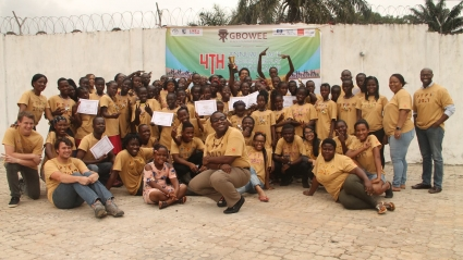 Gbowee Peace Foundation Africa's Peace Through Fair Play Youth Camp
