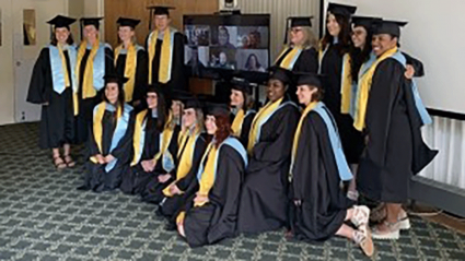 2019 graduates of the MATM program