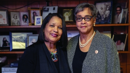 Rhynette Northcross '73 and Deborah Northcross Hurd '71