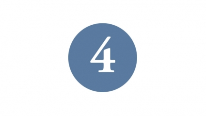 Image of the number 4