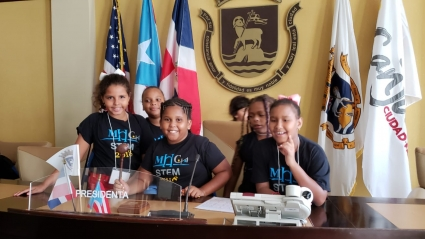 STEM camp - mayor office