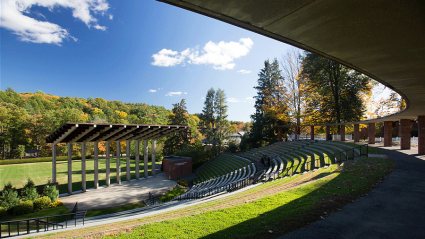 Photo of the Gettell Ampitheater
