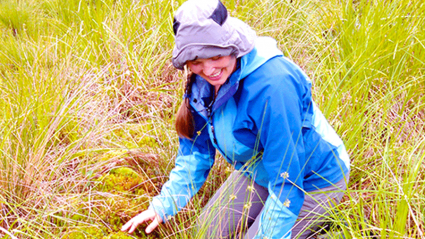 Photo of Kate Ballentine, Director of Restoration Ecology