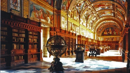 El Escorial Library, San Lorenzo, Spain