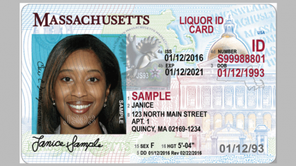 Id Massachusetts Driver's Mount And College Holyoke License