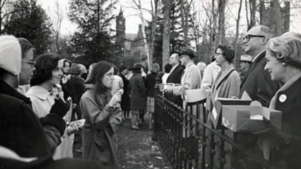 Students and trustees, Founder's Day 1964