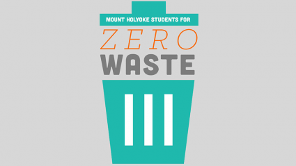 Logo for the Mount Holyoke Zero Waste Club