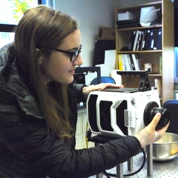 Emma Thackray '18, Student Researcher