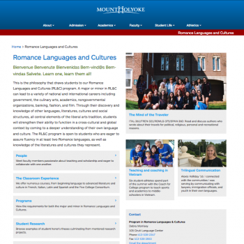 Romance Languages and Cultures
