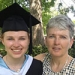Beth Linder Carr and daughter Zoe Crabtree '15