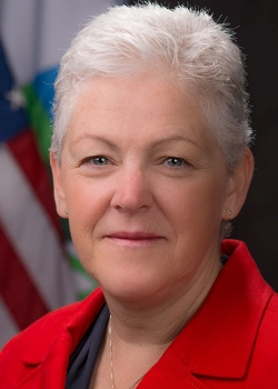 Photo of Gina McCarthy, former administrator of the EPA